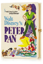 Disney© Peter Pan embroidered clutch