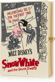 + Disney© Snow White embroidered clutch
