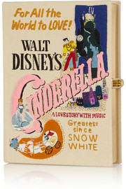 Olympia Le-Tan + Disney© Cinderella embroidered clutch