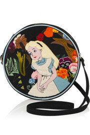 + Disney© Alice in Wonderland embroidered shoulder bag