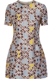 Mary Katrantzou JQ Blo silk-blend jacquard mini dress