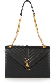 Saint Laurent Monogramme large quilted leather shoulder bag