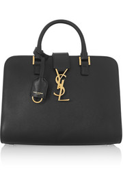 Saint Laurent Monogramme Cabas baby leather tote