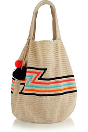 Luz crocheted cotton tote
