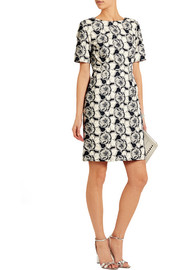 J.Crew Collection floral-embroidered cotton dress