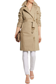 J.Crew Collection bonded cotton-gabardine trench coat