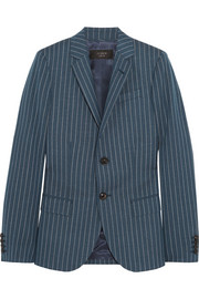 Collection Ludlow pinstriped wool blazer