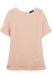 J.Crew Collection silk-crepe top