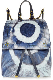 Jérôme Dreyfuss Florent tie-dyed leather backpack