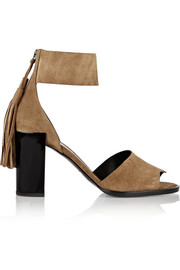 Pierre Hardy Fringed suede sandals