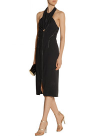 Dion Lee Halterneck crepe dress