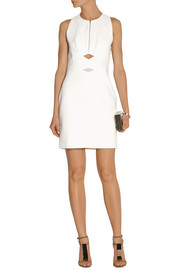 Dion Lee Cutout tech-jersey and mesh mini dress