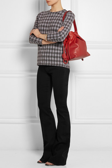 f64025b3d44f Flamenco Knot small leather shoulder bag