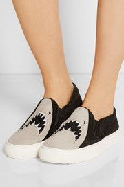 Markus Lupfer Suede slip-on sneakers