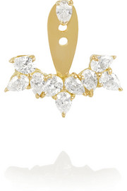 Yvonne Léon 18-karat gold diamond earring