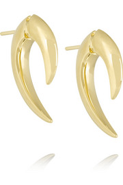 Shaun Leane Large Talon 18-karat gold earrings