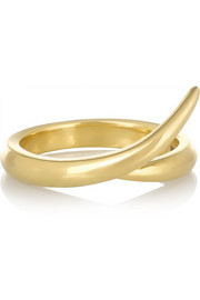 Shaun Leane Interlocking 18-karat gold ring