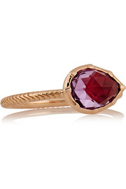 Larkspur & Hawk Bella rose gold amethyst ring