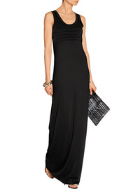Stretch-jersey maxi dress