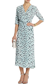 Vanessa Bruno Cima floral-print silk crepe de chine wrap dress