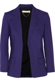 Candela stretch-cotton blazer