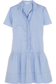 Vanessa Bruno Athé cotton-chambray mini dress