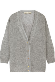Cebe open-knit wool and cashmere-blend cardigan