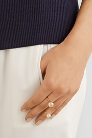 Sophie Bille Brahe Lisa Deux 14-karat gold ring