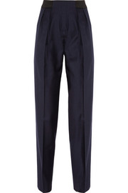 Hypnos pinstriped wool tapered pants
