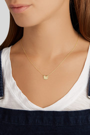 10-karat gold diamond necklace