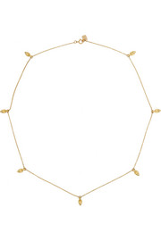 Imperial 10-karat gold diamond necklace