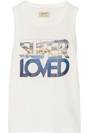 Super Loved cotton-jersey tank
