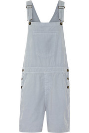 Current/Elliott The Shirley corduroy overalls