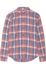 The Slim Boy plaid flannel shirt