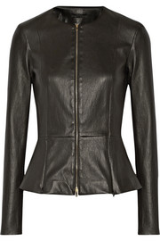 The Row Anasta leather jacket