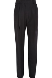 Serge wool-twill tapered pants
