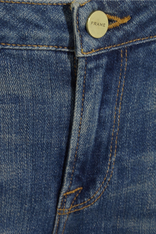 FRAME + Inez and Vinoodh Inez mid-rise straight-leg jeans