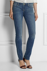 Frame Denim + Inez and Vinoodh Inez mid-rise straight-leg jeans