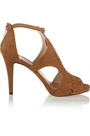 Jimmy Choo Tinsay nubuck sandals
