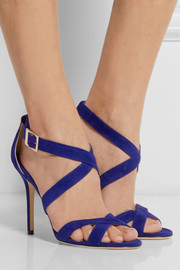 Jimmy Choo Lottie suede sandals