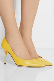 Jimmy Choo Agnes leather pumps