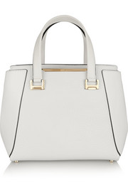 Alfie medium textured-leather tote