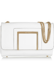 Jimmy Choo Alba leather shoulder bag