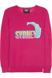 Sydney sequined merino wool sweater