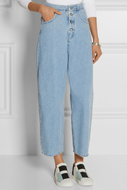 MM6 Maison Martin Margiela High-waisted wide-leg jeans