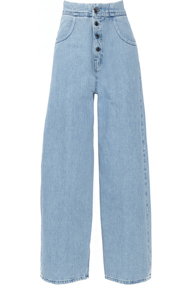 High-rise wide-leg jeans Maison Martin Margiela Cheap Sale 100% Authentic For Sale Sale Online Free Shipping For Cheap FwHIwu8