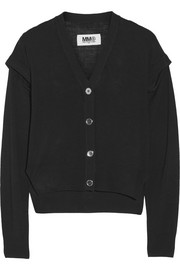 MM6 Maison Martin Margiela Convertible fine-knit cardigan