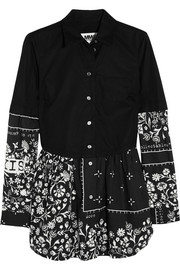 MM6 Maison Martin Margiela Printed cotton shirt