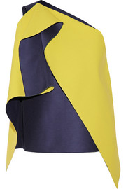 Roksanda Ilincic Bonded dupion and crepe top