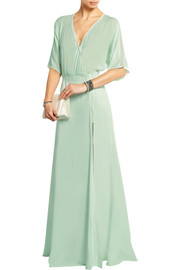 Lillian voile maxi dress
